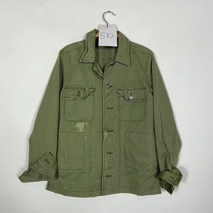 American Eagle Distressed Military Jacket